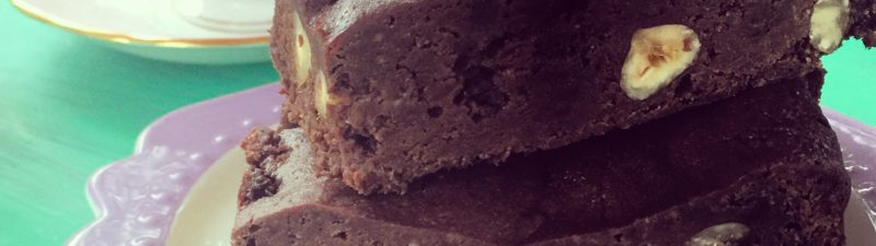 Hazelnut Brownie – gluten, grain, dairy & egg free!!