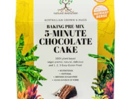 5-Minute Chocolate Cake – Baking Pre-Mix